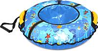 Тюбинг-ватрушка Ника ТБ2К-85 850мм (рыбки) -