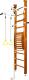 Детский спортивный комплекс Kampfer Helena Maxi Ceiling №3 (классический/белый турник, стандарт) -