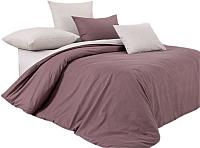 Комплект постельного белья Моё бельё Шоколадный крем 5 -