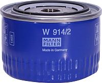 Масляный фильтр Mann-Filter W914/2 -