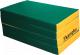 Гимнастический мат Kampfer №7 200x100x10см (зеленый/желтый) -