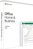 Пакет офисных программ Microsoft Office Home and Business 2019 (T5D-03189) -