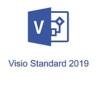 ПО графическое Microsoft Visio Standard 2019 Windows (D86-05822) -