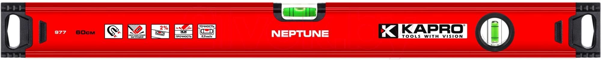 Купить Уровень строительный Kapro, Neptune 977-40-40М, Израиль