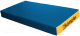 Гимнастический мат Kampfer №1 100x50x10см (синий/желтый) -