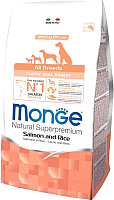 Корм для собак Monge Speciality Puppy&Junior All Breeds Salmon&Rice (12кг) -
