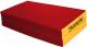 Гимнастический мат Kampfer №4 100x100x10см (красный/желтый) -