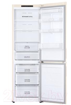 Холодильник с морозильником Samsung RB34N5000EFWT