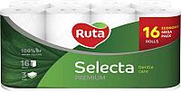 Туалетная бумага Ruta Selecta (белая, 16рул) -