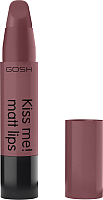 Помада для губ GOSH Copenhagen Kiss Me! Matt Lips 009 Naked Kiss -