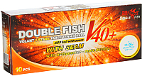 Мячи для настольного тенниса Double Fish One star 1 Volant V201F (10шт) -