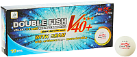 Мячи для настольного тенниса Double Fish Three star 3 Volant V111F (10шт) -