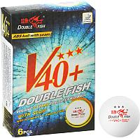 Мячи для настольного тенниса Double Fish Three star 3 Volant A110F (6шт) -