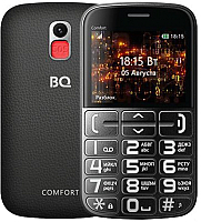 Мобильный телефон BQ Comfort BQ-2441 (черный/серебристый) -