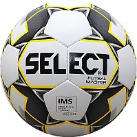 Мяч для футзала Select Futsal Master / 852508-051 (размер 4, белый/желтый/черный) -