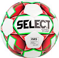 Мяч для футзала Select Futsal Samba / 852618-003 (белый/красный/салатовый/черный) -