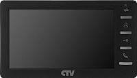 Монитор для видеодомофона CTV M1701MD (черный) -