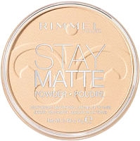 Пудра компактная Rimmel Stay Matte Pressed Powder тон 001 (14г) -