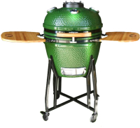 Угольный гриль Start Grill SKL22H с стеклянным окошком (зеленый) -