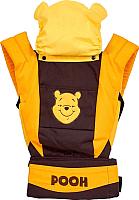 Сумка-кенгуру Polini Kids Disney baby Медвежонок Винни и его друзья с вышивкой (шоколадный) -