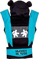 Сумка-кенгуру Polini Kids Disney baby Микки Маус с вышивкой / 0001699-9 (черный) -