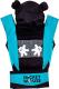 Эрго-рюкзак Polini Kids Disney Baby Микки Маус с вышивкой / 0001699-9 (черный) -