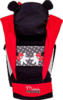 Сумка-кенгуру Polini Kids Disney baby Минни Маус с вышивкой / 0001700-9 (черный) -