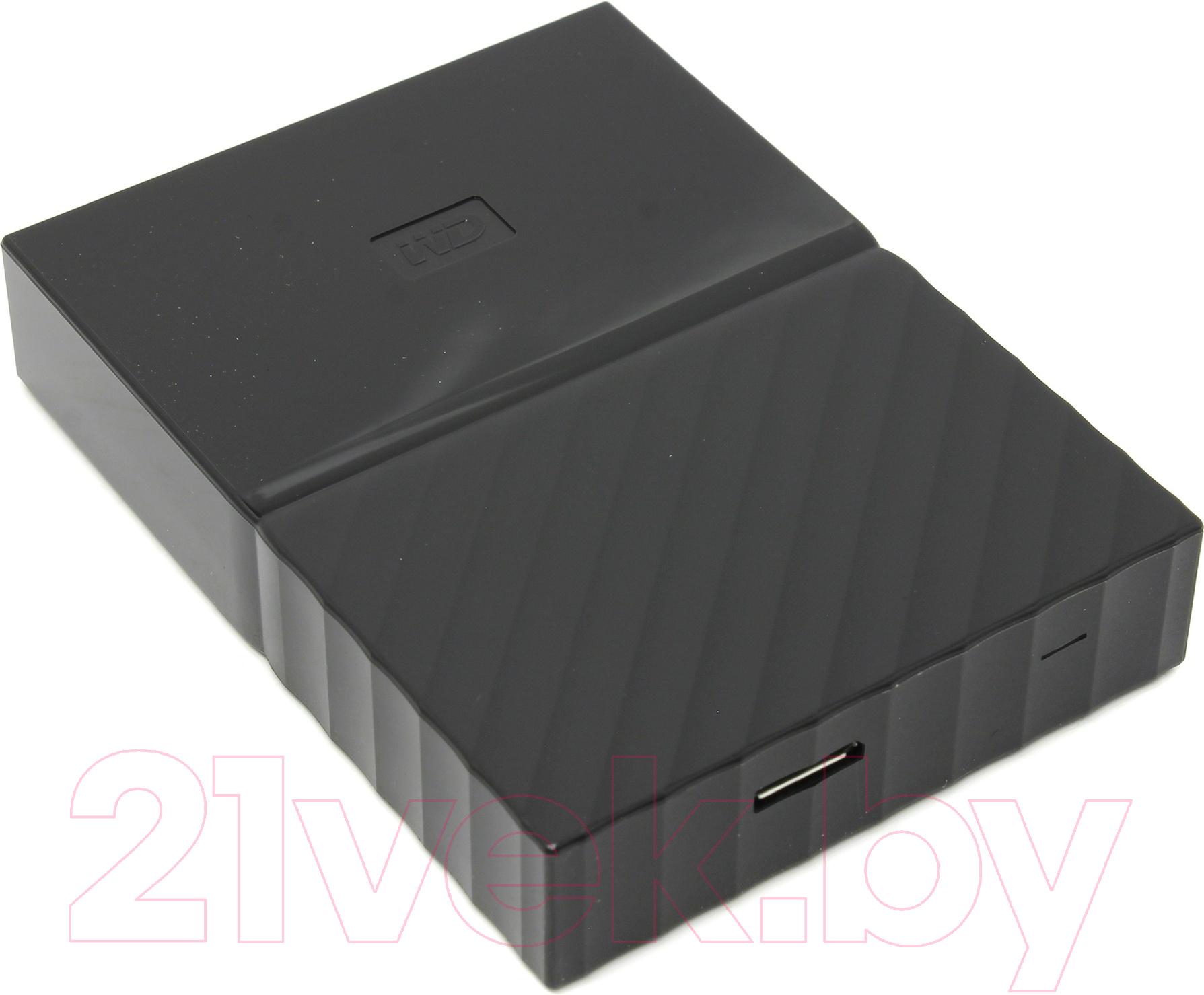 Купить Внешний жесткий диск Western Digital, My Passport Game Storage 4TB (WDBZGE0040BBK-WESN) (черный), Китай