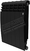 Радиатор биметаллический Royal Thermo Biliner 500 Noir Sable (4 секции) -