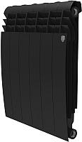 Радиатор биметаллический Royal Thermo Biliner 500 Noir Sable (6 секций) -