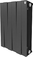 Радиатор биметаллический Royal Thermo PianoForte 500 Noir Sable (6 секций) -