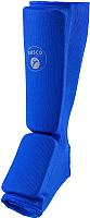 Защита голень-стопа RuscoSport XL (синий) -