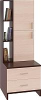 Стеллаж Сокол-Мебель СТ-10 (венге/беленый дуб) -