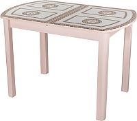 Обеденный стол Домотека Танго ПО (ст-71/молочный дуб/04) -