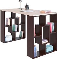Письменный стол Сокол-Мебель СПМ-15 (венге/беленый дуб) -