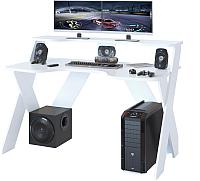 Компьютерный стол Сокол-Мебель КСТ-117 (белый) -