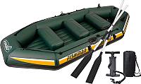 Надувная лодка Jilong Fishman II 400 Set / JL007211N (темно-зеленый) -