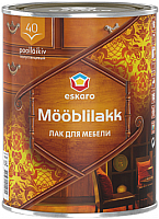 Лак Eskaro Mooblilakk 40 (450мл) -