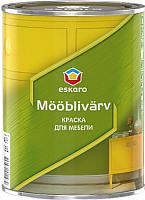 Краска Eskaro Mooblivarv (900мл) -