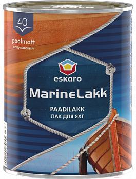 Купить Лак яхтный Eskaro, Marine Lakk 40 (950мл, полуматовый), Эстония, бесцветный