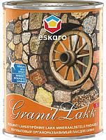 Лак Eskaro Granit Lakk S (1л, полуматовый) -