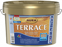 Масло для древесины Aura Wood Terrace Aqua (2.7л, палисандр) -
