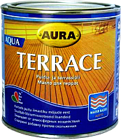 Масло для древесины Aura Wood Terrace Aqua (900мл, бесцветный) -