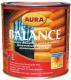 Защитно-декоративный состав Aura Wood Balance (700мл, махагон) -