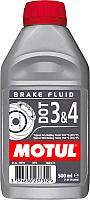 Тормозная жидкость Motul DOT 3&4 Brake Fluid / 102718 (0.5л) -