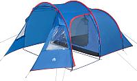 Палатка Trek Planet Trento 4 / 70145 (синий/красный) -