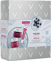 Набор косметики для лица Vichy Idealia крем-уход 50мл + бальзам-гель 50мл + крем д/век 15мл -