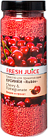 Соль для ванны Fresh Juice Вишня и Гранат (450г) -