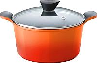 Кастрюля Frybest Orange ORCV-C20 (оранжевый) -