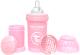 Бутылочка для кормления Twistshake Pastel Pink антиколиковая / 78249 (180мл, пастельный розовый) -